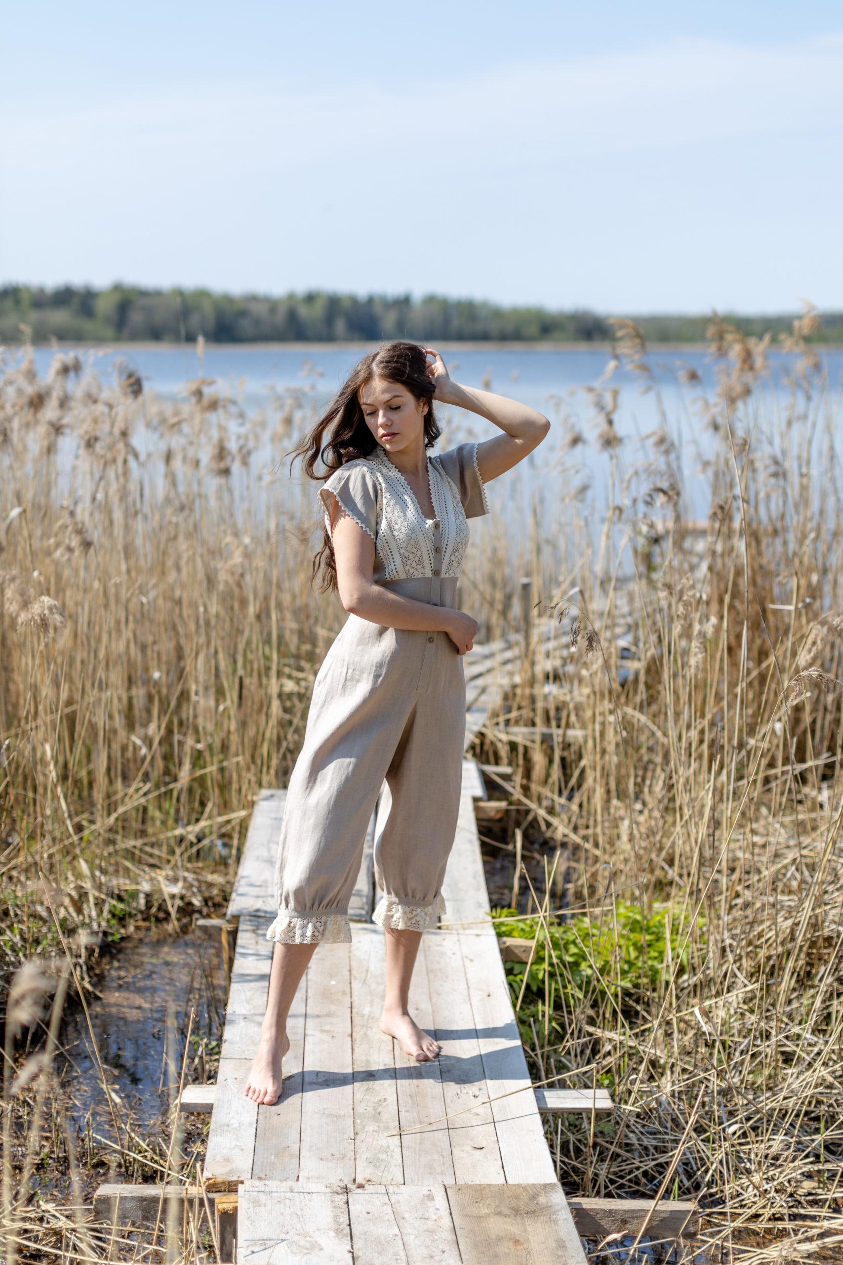 Duchess Morning in natural linen
