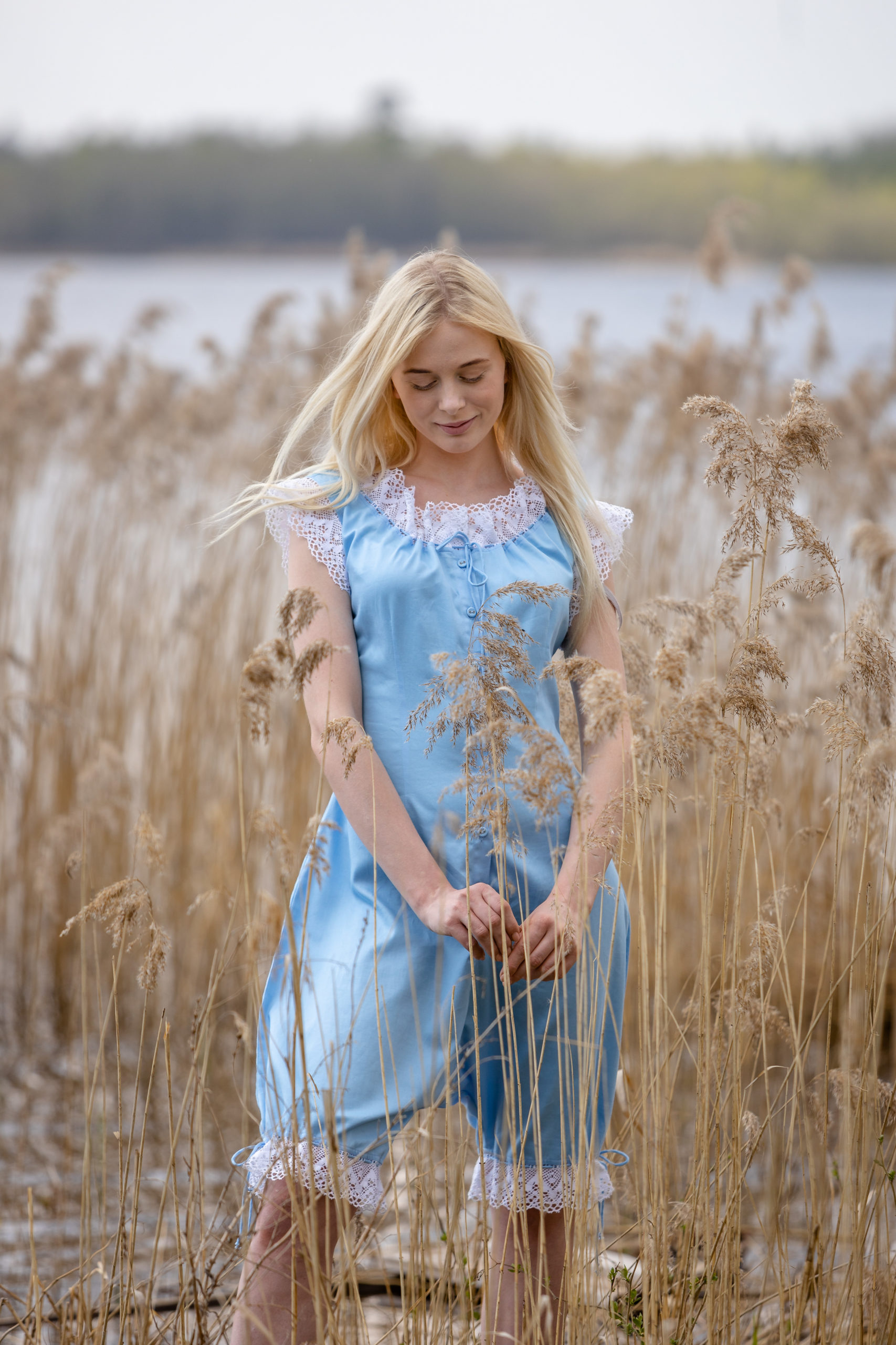 Baroness of the Dawn in Blue