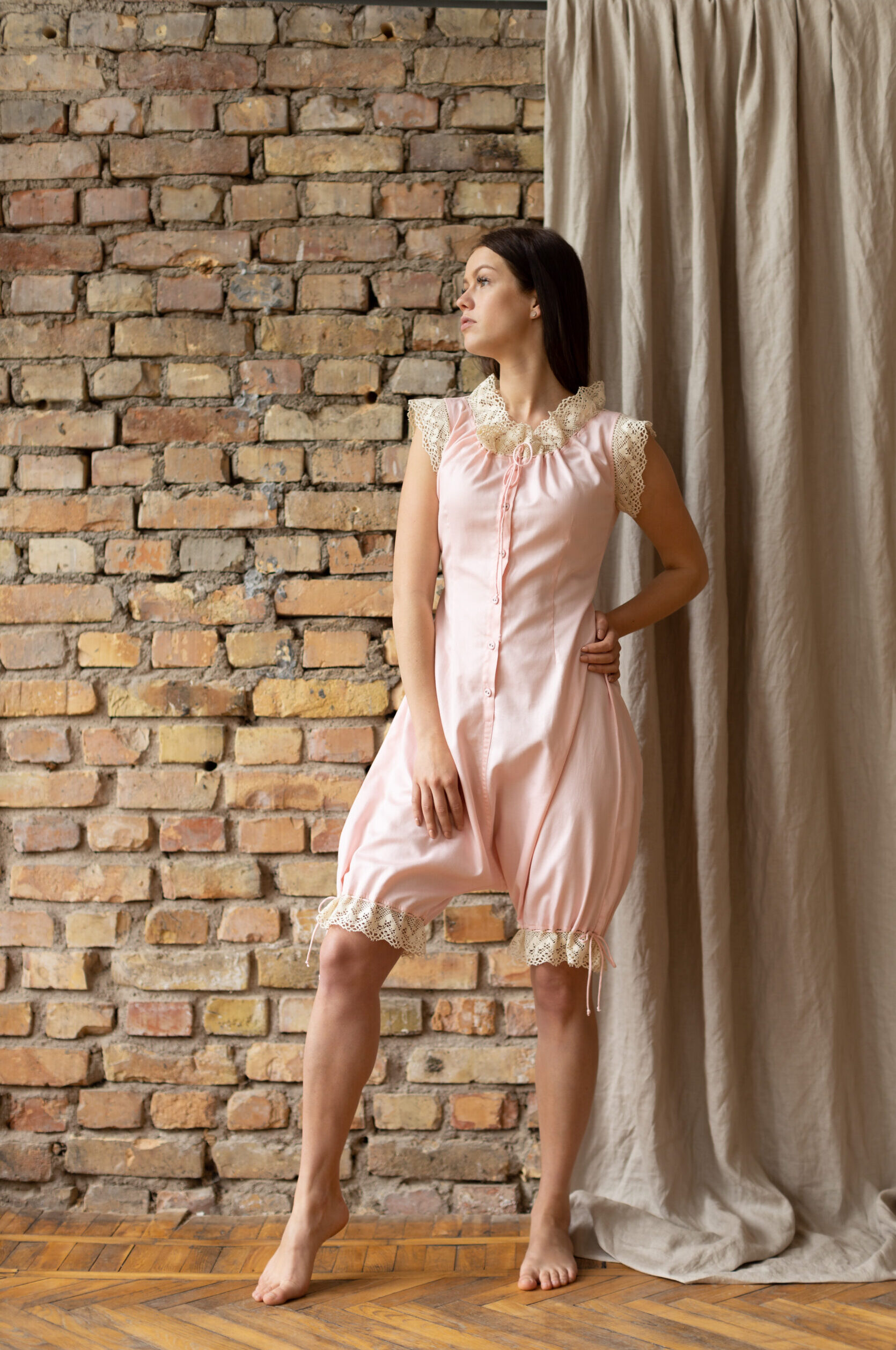Baroness of the Dawn in Pink Vintage